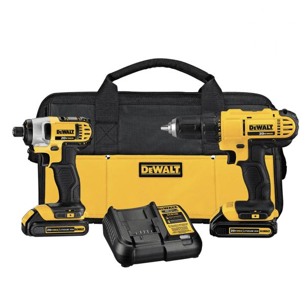 DeWalt Cordless Drill Combo Set