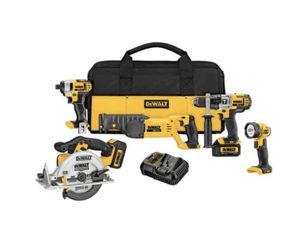 DeWalt 5-Tool Combo Kit